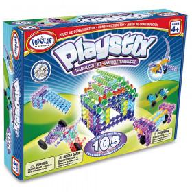Playstix 105-Piece Translucent Set