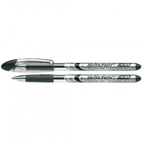 Slider Basic XB Ballpoint Pen Viscoglide Ink, 1.4 mm, Black Ink