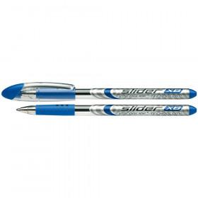 Slider Basic XB Ballpoint Pen Viscoglide Ink, 1.4 mm, Blue Ink