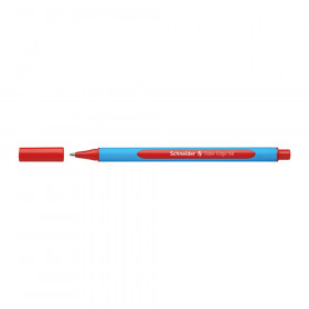 Slider Edge XB Ballpoint Pen, Viscoglide Ink, 1.4 mm, Red