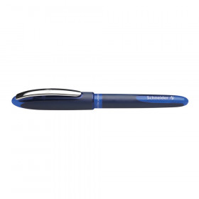 One Business Rollerball Pens, 0.6mm, Blue