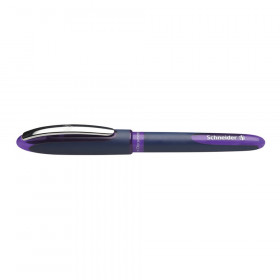 One Business Rollerball Pens, 0.6mm, Violet