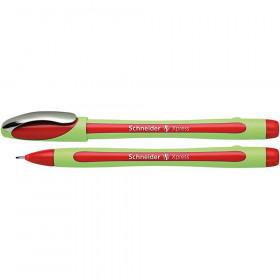 Xpress Fineliner Pen, Fiber Tip, 0.8 mm, Red
