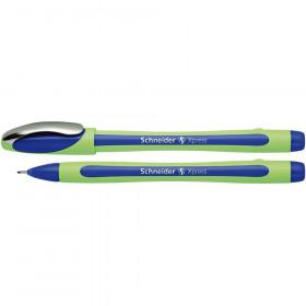 Xpress Fineliner Pen, Fiber Tip, 0.8 mm, Blue