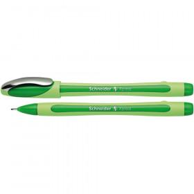Xpress Fineliner Pen, Fiber Tip, 0.8 mm, Green