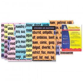 Adjective Attack Card Set, Spanish