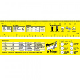 French reference Rulers