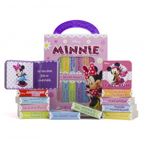 My First Library Minnie Mouse, 12 Books