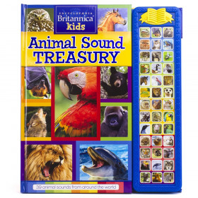 Encyclopaedia Britannica Kids: Animal Sound Treasury Storybook