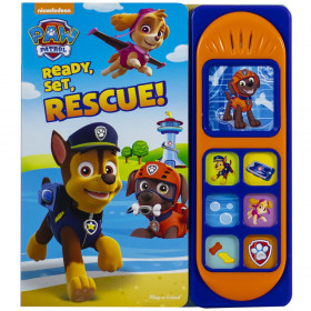 Little Sound Book Paw Patrol: Ready, Set, Rescue