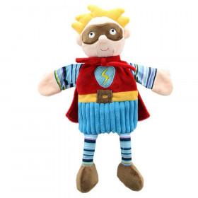 Story Telling Puppet, Superhero (Blue)