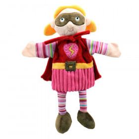 Story Telling Puppet, Superhero (Pink)