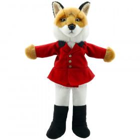 Dressed Animal Puppets Fox