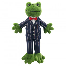Dressed Animal Puppets Frog