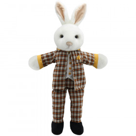 Dressed Animal Puppets Mr Rabbit
