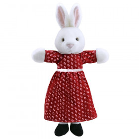 Dressed Animal Puppets Mrs Rabbit