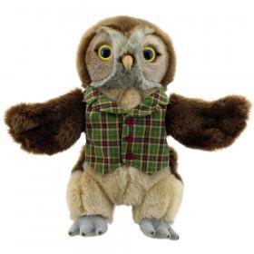 Dressed Animal Puppets Owl