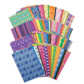 """Roylco Decorative Hues Paper, 5.5"""" x 8.5"""", 192 Sheets"""