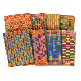 """Roylco African Textile Paper, 8-1/2"""" x 11"""", 32 shts"""