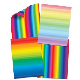 Double Color Rainbow Paper, 96 Sheets