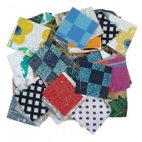 Roylco Fabric Mosaics, 400 Pieces