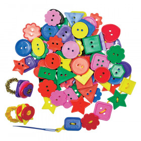 Super Value Bright Buttons, 2 lbs.