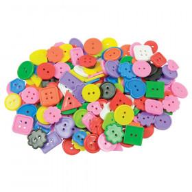 Roylco Bright Buttons, 1 lb.