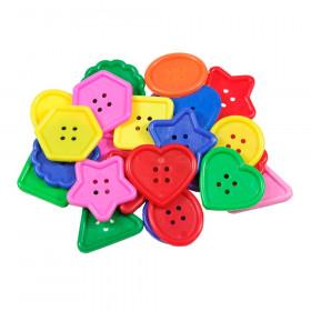Roylco Really Big Buttons, 30/pkg