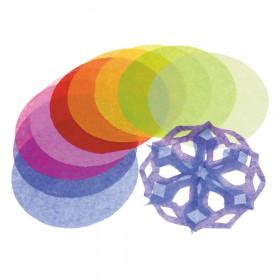 """Roylco 4"""" Tissue Circles, 480/pkg"""