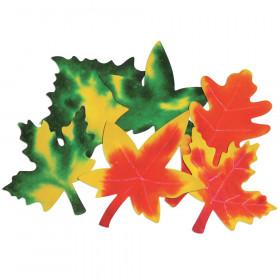 Roylco Color Diffusing Paper Leaves, 80/pkg