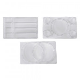 See-Through Sorting Trays, Pack of 3