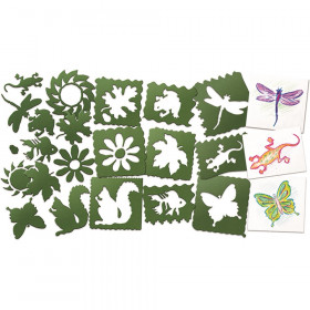 Roylco Nature Stencils, Pack of 10