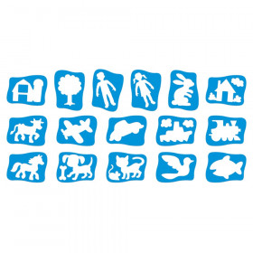 My First Stencils, Pack of 16