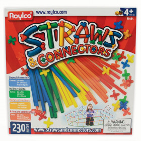 Straws & Connector Set, 230 Pieces