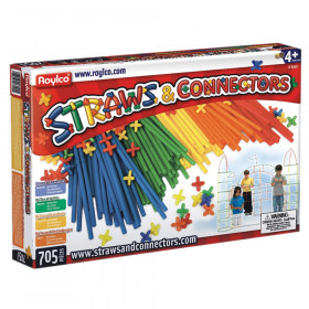 Straws & Connectors Set, 705 Pieces