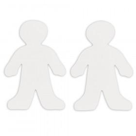 """Roylco Wee Kid Fingerpaint Paper Shape, 7-1/2"""" x 12"""", 36/pkg"""