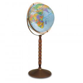 "Treasury Floor Model Globe, 12"""