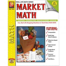 Market Math for Beginners Book, Grades 3-6