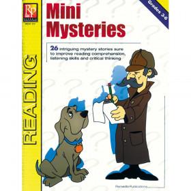 Mini Mysteries Book, Grades 3-6