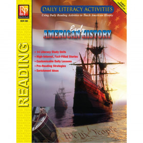 Daily Literacy Activities: Early American History Reading