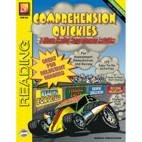 Comprehension Quickes Reading Level 5