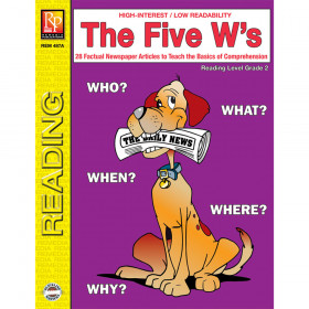The 5 Ws 2Nd Gr Reading Level