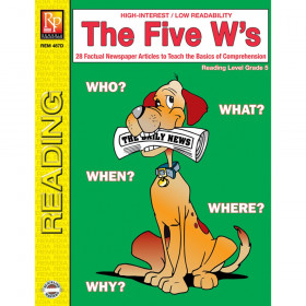 The Five W's Book, Reading Level 5