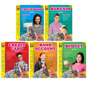 Life Skills Math Series Set Of 5