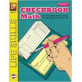 Checkbook Math Book, Grades 6-12