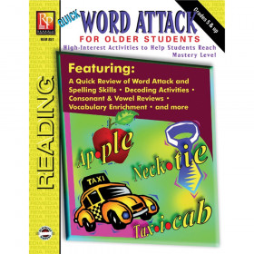 Quick Word Attack for Older Students Book