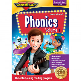 Phonics Volume 1 Dvd