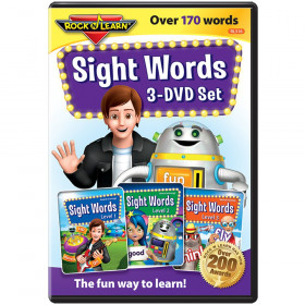 Sight Words 3-DVD Set