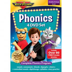 Rock 'N Learn Phonics 4-DVD Set
