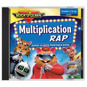 Multiplication Rap Audio CD & Printable Book